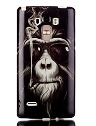 Smoking monkey Pattern TPU Phone Case for LG Stylo LS770
