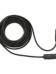 5m USB standard HD 480p endoscope endoscope serpent lentille de 10mm 4 LED IP67 inspection endoscope caméra étanche