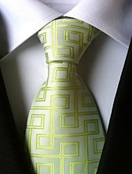 New Green Maze Classic Formal Men's Tie Necktie Wedding Party Gift TIE0045