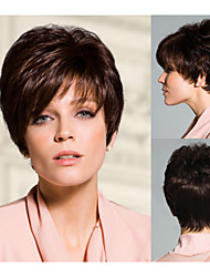 Short Straight hair Natural African American wigs for women sw00132
