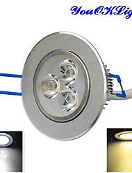 Luci da soffitto 3 LED ad alta intesità 300 lm Bianco caldo / Luce fredda Intensità regolabile / Decorativo AC 220-240 / AC 110-130 V1
