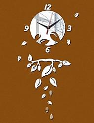 Круглый Модерн / Повседневный / Офисный Настенные часы,Праздник / Домики / Духовное развитие / Друзья / День рождения / Свадьба / Семья /