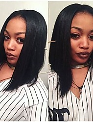 2016 Premierlacewigs Ciara Style Natural Looking Glueless Lace Wigs Middle Part Long Bob Wigs For Black Women