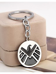 Europe And America Avengers vintage Pendant Keychain Movie Agents of S.H.I.E.L.D. Jewelry Key chains For Women Men