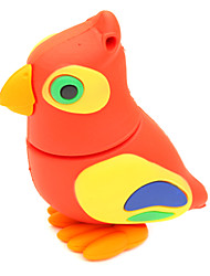 ZPK36 64GB Red Owl Cartoon Bird USB 2.0 Flash Memory Drive U Stick
