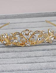Women's Rhinestone Headpiece-Wedding Special Occasion Casual Office & Career Outdoor Tiaras 1 Piece