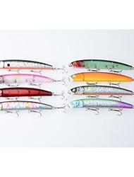 """8pcs pcs kleiner Fisch Zufällige Farben 15.6g g/5/8 Unze,125 mm/4-3/4"""" Zoll,Fester KunststoffSeefischerei / Fischen im Süßwasser /"""
