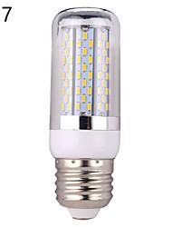 8W E14 / E26/E27 Ampoules Maïs LED B 120 SMD 3014 700 lm Blanc Chaud / Blanc Froid Décorative AC 24 / DC 24 V 1 pièce