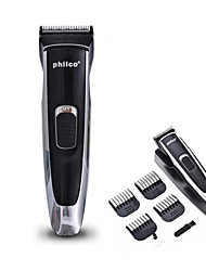 Rechargeable Electric Hair Clipper Cutting Trimmer Grooming with Accessories Set