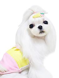 Dog Shirt / T-Shirt Blue / Pink Dog Clothes Spring/Fall Fashion