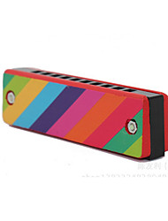 Wood Colorful Harmonica Toys Musical Instruments Music Toys Sets for Kids