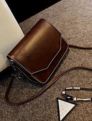 L.WEST® Women's Triangle Cover Chain Bag Restoring Ancient Ways Packages /Shoulder Bag