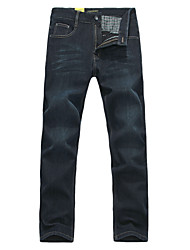 Lesmart Men's Jeans Pants Black / Blue / Dark Gray - DX13180
