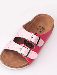 Girls' Shoes Outdoor / Casual Slippers / Open Toe  Slippers Pink / Red