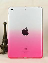 transparent verlauf weichen TPU-Material Schutzhülle für iPad Mini 3/2/1 (verschiedene Farben)