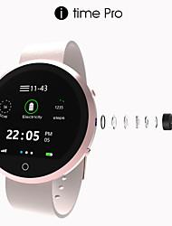 itime pro bluetooth montre intelligente bluetooth3.0 / appels mains libres / moniteur de fréquence cardiaque / activité Tracker pour ios