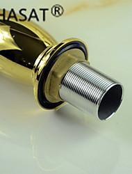 Modernes Design Golden Ti-PVD Waschbecken Wasserhahn