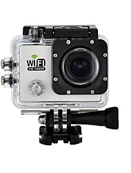"lnzee G550 SJ6000 Style WiFi Action Camera 12MP Full HD 1080P 2.0""LCD Diving 30M Waterproof Sport DV Camera"