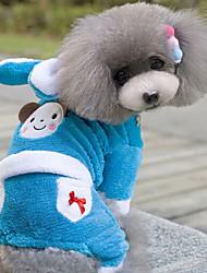 Dog Coat Blue Winter Fashion