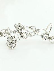 Earring Clip Earrings Jewelry Women Alloy / Cubic Zirconia / Gold Plated 1pc Gold / Silver