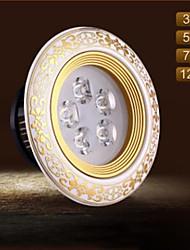 3W Luces LED Descendentes 3 LED Integrado 100 lm Blanco Cálido / Blanco Fresco Decorativa AC 100-240 V 1 pieza