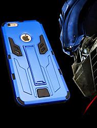 Pour Coque iPhone 6 / Coques iPhone 6 Plus Antichoc / Avec Support Coque Coque Arrière Coque Armure Dur TPUiPhone 6s Plus/6 Plus / iPhone
