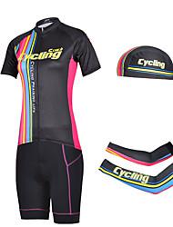 CHEJI Bike/Cycling Shorts / Arm Warmers / Bandana / Jersey / Jersey + Pants/Jersey+Tights / Clothing Sets/Suits Women's Short Sleeve