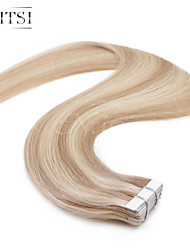"Neitsi 20"" 50g 20pcs Tape In Human Hair Pu Skin Weft Hair Extensions Straight P18-613"