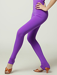 High-quality Viscose Latin Dance Leggings for Women's Performance(More Colors)