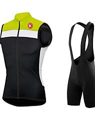 KEIYUEM Cyclisme Ensemble de Vêtements/Tenus / Collants Homme / Unisexe VéloEtanche / Résistant à la poussière / Pare-vent / Matériaux