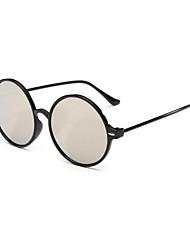 Sunglasses Men / Women / Unisex's Fashion Round Black Sunglasses Full-Rim