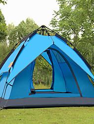 SHAMOCAMEL Ultraviolet Resistant / Rain-Proof Polyester One Room Tent Blue
