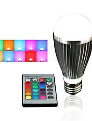 HRY® E27 5W RGB with Remote Control Multiple Colour RGB LED Bulb(85-265V)