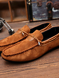 Men's Shoes Outdoor / Casual Boat Shoes Black / Blue / Brown