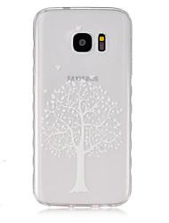 Für Samsung Galaxy Hülle Transparent Hülle Rückseitenabdeckung Hülle Baum TPU SamsungS7 / S6 edge / S6 / S5 Mini / S5 / S4 Mini / S4 / S3