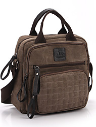 Mens Vintage Canvas Shoulder Messenger Bag Travel Military Handbag