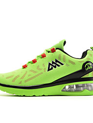 Men's Shoes Basketball/Athletic/Casual Tulle Leather Fashion Air cushion Shoes Black/Bule/Green