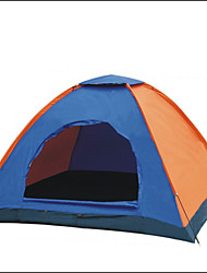 LANGYA Waterproof / Breathability Polyester One Room Tent Blue