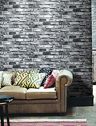 Artistico Carta da parati Retrò Rivestimento pareti,PVC / Vinile Stone Wallpaper