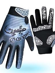 Touch Screen Gel Long Finger Glove Cycling for Men Women Downhill Motocross MTB Monutain Bike Bicycle