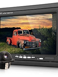 "7"" Lcd Digital Color Screen Car Monitor+2.4Ghz Wireless Backup Rearview Camera"