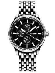 Men's Watch High Quality Business Men Watches Casual Black Luxury Water Resistant Lovers WristWatch Cool Watch Unique Watch