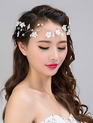 Fashion Wedding Party Women Bride Net Flowers Headbands