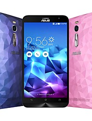"ZenFone2 Deluxe (ZE551ML) 5.5 "" Android 5.0 Celular 4G (Chip Duplo Quad núcleo 13 MP 4GB + 64 GB Branco / Azul)"