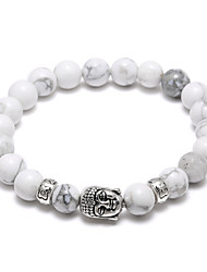 The Best-Selling New Buddha Head Hand String Bead Bracelet Christmas Gifts