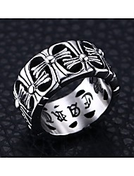 316 Stainless Steel Cross Men Ring