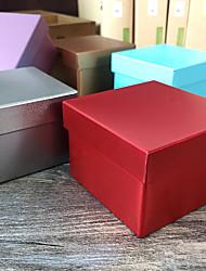 Geschenk Schachteln ( Gold / Lila / Silver / Rot / Blau , Metall ) - Nicht personalisiert -Hochzeit / Jubliläum / Babyparty / Quinceañera