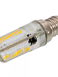 1pcs dimmable e12 / e11 / e17 6w 80 SMD 3014 540 lm branco morno / branco frio luzes LED de milho ac 220-240 / ac 110-130 v