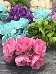 decoraciones de fiesta de la boda - 144piece / set pedazo / sistema de flores artificiales