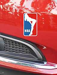 Funny  The basketball sport beauty Car Sticker Car Window Wall Decal Car Styling (1pcs)